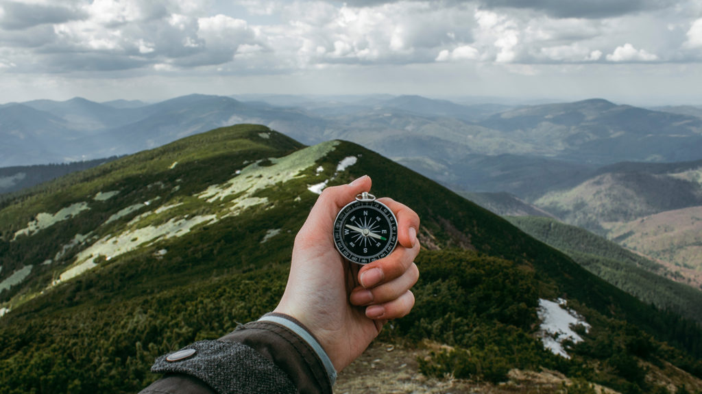 Navigation: we explore, which direction you could go to reach your goal